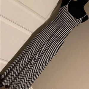 Calvin Klein summer dress size 2 black/white